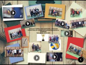 Szkolny Turniej Piłki Siatkowej o Puchar Dyrektora XIV Liceum Ogólnokształcącego w Poznaniu, rok szkolny 2015/2016